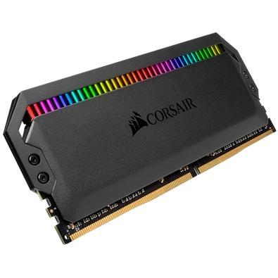 Memória Corsair Dominator RGB 32GB (4x8GB) 3200MHz  DDR4  C16 Ryzen Black - CMT32GX4M4Z3200C16