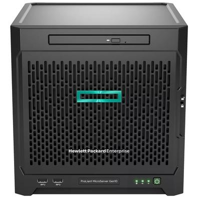 Servidor HPE Proliant Microserver Gen10, AMD OpteronTM X3418, 1x8GB,  1.8GHz - P07203-001