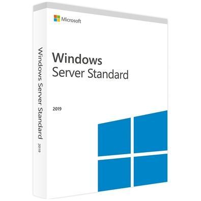 Microsoft Windows Server Standard 2019 Bra 64 bit COEM 16 core P73-07783