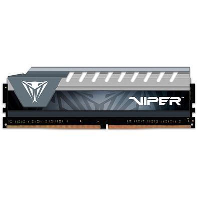 Memória Patriot Viper Elite 16GB (1x16GB), 2666MHz, DDR4, CL16, Cinza - PVE416G266C6GY