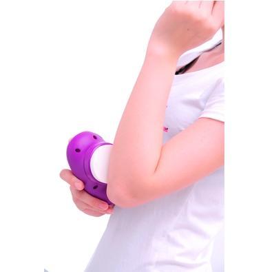 Massageador e Esfoliador de Pés RelaxBeauty Feet Care, Ergonômico, com Acessórios - RB-PE835C PU