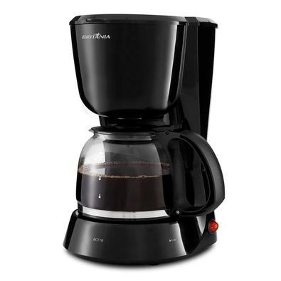 Cafeteira Elétrica Britânia BCF18, 18 Xícaras, 550W, 220V, Preta - 63902104