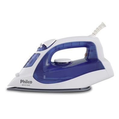 Ferro de Passar a Vapor Philco PFV310AZ, 1200W, 110V, Azul/Branco - 53601023