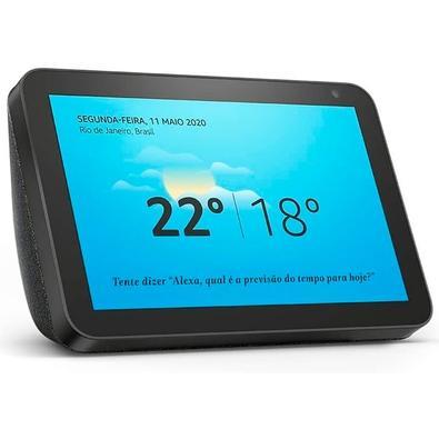 Amazon Smart Home Echo Show 8, Tela 8´, Alexa, Preto - B07SG8F1QF