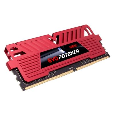 Memória Geil EVO Potenza AMD, 16GB (2x8GB), 3000MHz, DDR4, CL16, Vermelho - GAPR416GB3000C16ADC