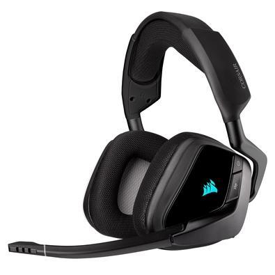 Headset Gamer Corsair Void Elite Wireless, RGB, Surround 7.1, Drivers 50mm, Carbono - CA-9011201-NA