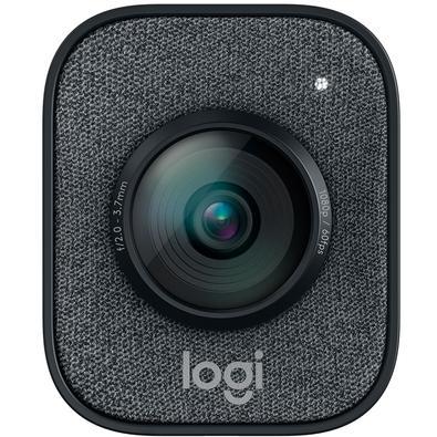 WebCam Logitech StreamCam Plus Full HD Resolução 1080p a 60 fps, Áudio Estéreo com Microfones, Conexão USB Tipo C - 960-001280