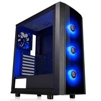 Gabinete Gamer Thermaltake Versa J25, Mid Tower, RGB, com FAN, Lateral em Vidro - CA-1L8-00M1WN-01