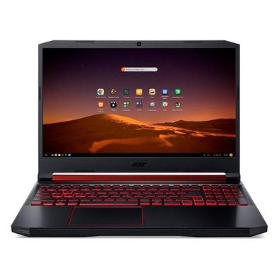 Notebook Gamer Acer Aspire Nitro 5 Intel Core i5-9300H, 8GB, 1TB, SSD 128GB, GTX 1050 3GB, Endless OS, 15.6´, Preto/Vermelho - AN515-54-581U