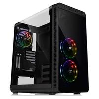 Gabinete Gamer Thermaltake View 37, Mid Tower, ARGB, com FAN, Lateral em Acrílico - CA-1J7-00M1WN-04