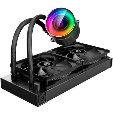 Water Cooler DeepCool Castle 240EX, 120mm, RGB - CASTLE 240 EX