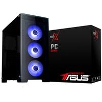 Computador Gamer BRX Powered By Asus Intel Core i3-9100F, 8GB, 1TB, SSD 240GB, GTX 1660 6GB, Windows 10 Pro - PCI39100F8GB1TB240GB1660W10B