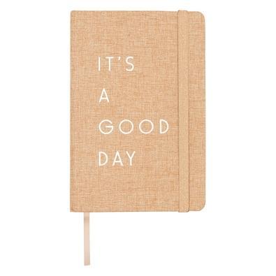 Caderno de Anotações Maxprint It´s a Good Day Bege - 721997