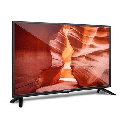 TV Monitor 24´ HD Multilaser , 1 HDMI , 1 USB + Gravador e Conversor TV Digital - TL016