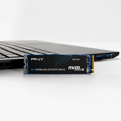 SSD PNY CS2130, 1TB, M.2 NVMe, Leituras: 3500Mb/s e Gravações: 1800Mb/s - M280CS2130-1TB-RB