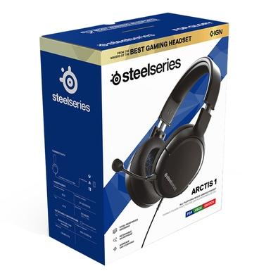 Headset Gamer Steelseries Arctis 1 para PS4, Cancelamento de Ruído, Preto - 61428