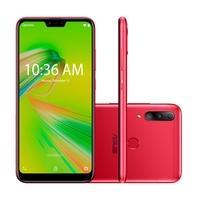 Smartphone Asus Zenfone Shot Plus, 128GB (64GB + 64GB), 12MP, Tela 6.2´, Vermelho - ZB634KL-4C021BR