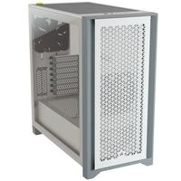 Gabinete Gamer Corsair 4000D Airflow, Mid Tower, com FAN, Lateral em Vidro Temperado, Branco - CC-9011201-WW