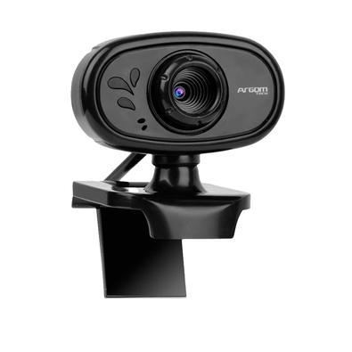 WebCam Argom Tech CAM20, HD 720P - ARG-WC-9120BK