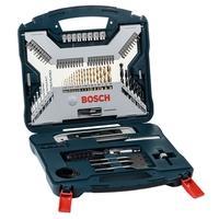 Kit de Pontas e Brocas Bosch X-Line, em Titânio, para Parafusar e Perfurar, com 100 Unidades - 2607017397-000