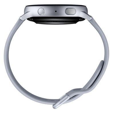 Smartwatch Samsung Galaxy Watch Active 2, 44mm, Wi-Fi, Touchscreen, Monitor Cardíaco, Prata - SM-R820NZSPZTO