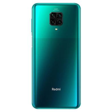Smartphone Xiaomi Redmi Note 9 Pro, 64GB, 64MP, Tela 6.67', Verde Tropical Green + Capa Protetora - CX293VRD