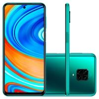 Smartphone Xiaomi Redmi Note 9 Pro, 64GB, 64MP, Tela 6.67', Verde Tropical Green + Capa Protetora - CX293VRD