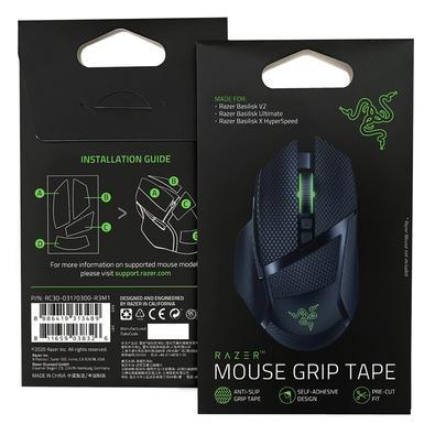 Mouse Grip Tape Razer para Mouse Gamer Basilisk V2, Ultimate e X HyperSpeed - RC30-03170300-R3M1