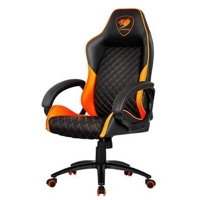 Cadeira Gamer Cougar Fusion, Orange / Black - 3MFUSNXB.0001