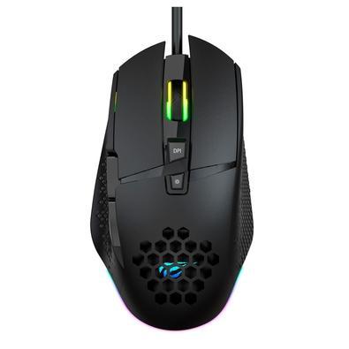 Mouse Gamer Havit, RGB, 8 Botões - HV-MS1022