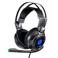 Headset Gamer HP H200, LED, Drivers 50mm - 8AA04AA