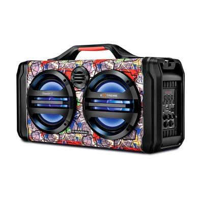 Caixa Amplificadora Mondial Multi Connect Thunder X Extreme, 160W RMS, Bluetooth, USB, Micro SD - MCO-10
