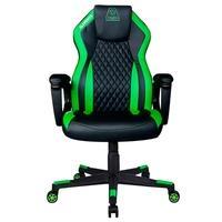 Cadeira Gamer Elements Gaming Elemental Terra Black/Green - 63579