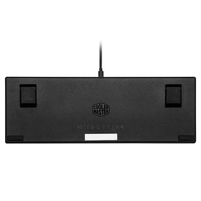 Teclado Mecânico Gamer Cooler Master SK620, Compacto, RGB, Switch Low Profile Blue, US, Cinza Espacial - SK-620-GKTL1-US