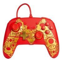 Controle Power A para Nintendo Switch EnWired Controller Mario Gold M - 1516987-01