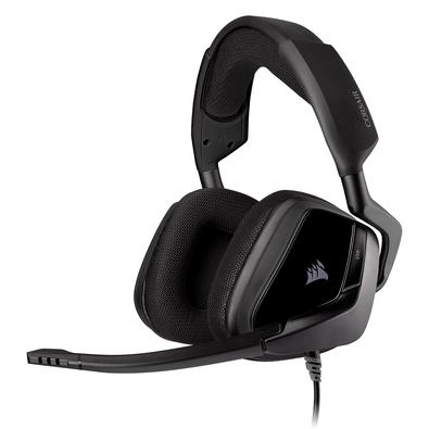 Headset Gamer Corsair Void Elite P2, Stereo, Drivers 50mm, Carbono - CA-9011208-NA