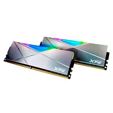 Memória XPG Spectrix D50 Xtreme, 16GB (2x8), DDR4, RGB, 5000mhz, CL 19-28-28 - AX4U500038G19M-DGM50X