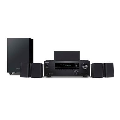 Home Theater Onkyo, 5.1 Canais, 4K, Bluetooth, Dolby Atmos e DTS: X, 110V - HT-S3910-B