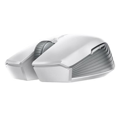Mouse Sem Fio Gamer Razer Atheris, Mechanical Switch, 5 Botões, 7200DPI, Mercury White - RZ01-02170300-R3M1