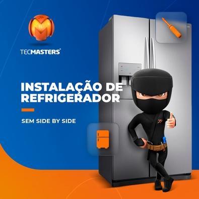 Instalação de Refrigerador sem Side by Side