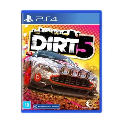 Jogo Dirt 5 - Playstation 4 - Codemasters