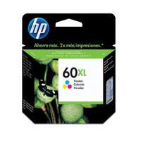 Cartucho de Tinta HP 60XL Tricolor CC644WB
