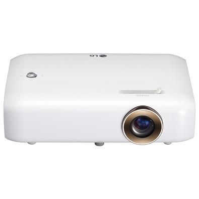Projetor LG CineBeam TV, HD, 550 Lumens, HDMI/USB 2.1, Bluetooth, Branco - PH510P
