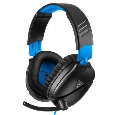 Headset Gamer Turtle Beach Recon 70P, Compatível com PS4 PS5 PC Xbox One Nintendo Switch e Mobile, Drivers 40mm - TB70PP0003