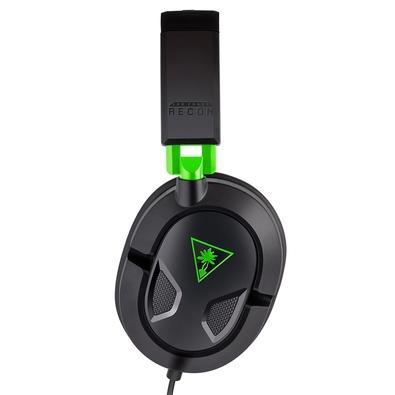 Headset Gamer Turtle Beach Recon 50X, Compatível com Xbox One PS4 PC e Mobile, Drivers 40mm - TB50X0002