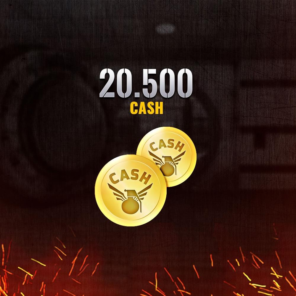 Gift Card Combat Arms - 20.500 CASH