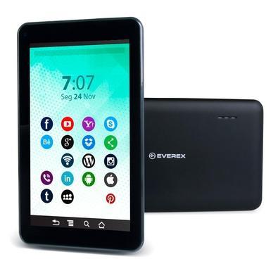 Tablet Everex Computer Preto 16gb Wi-fi