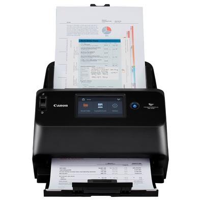 Scanner de Mesa Canon DR-S150, LAN/WiFi/USB, Duplex, Display Touch - 4044C011AA