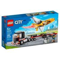 LEGO City - Transportador de Avião de Acrobacias Aéreas, 281 Peças - 60289