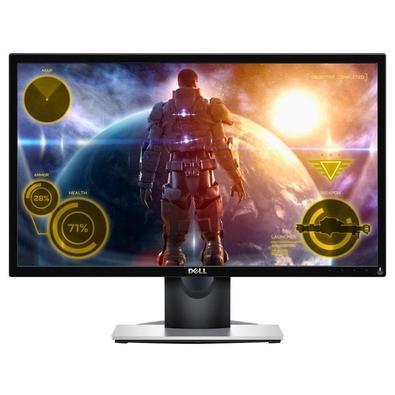 Monitor Gamer Dell 23.6'', Full HD, Resposta em 2ms, HDMI/VGA - SE2417HG
